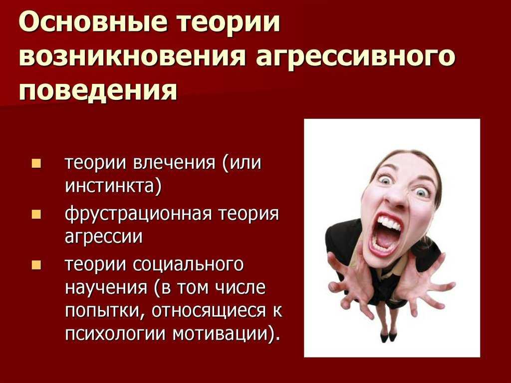 Агрессия. основные теории возникновения агрессивного поведения - юридическая психология | юрком 74