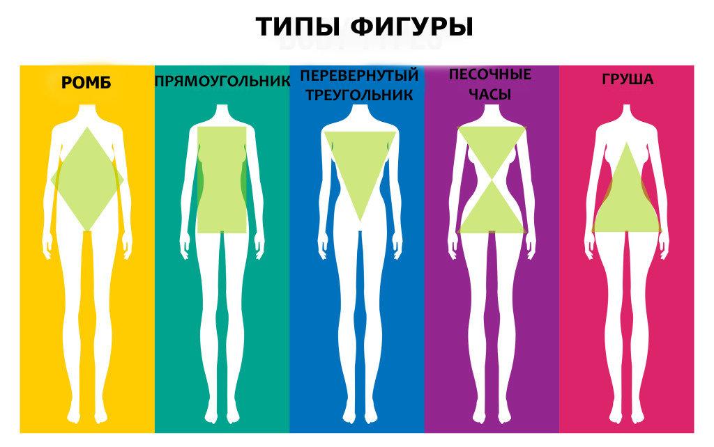 Типы женских фигур - описания, примеры и фото