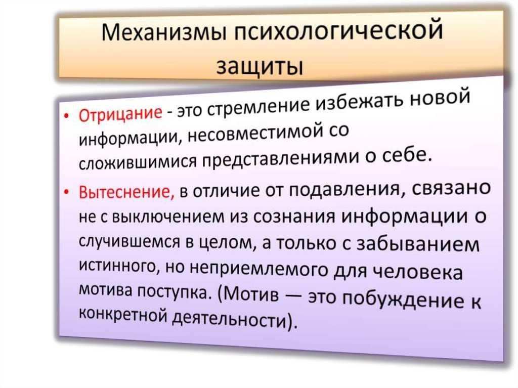 Анализ работы з. фрейда «вытеснение»