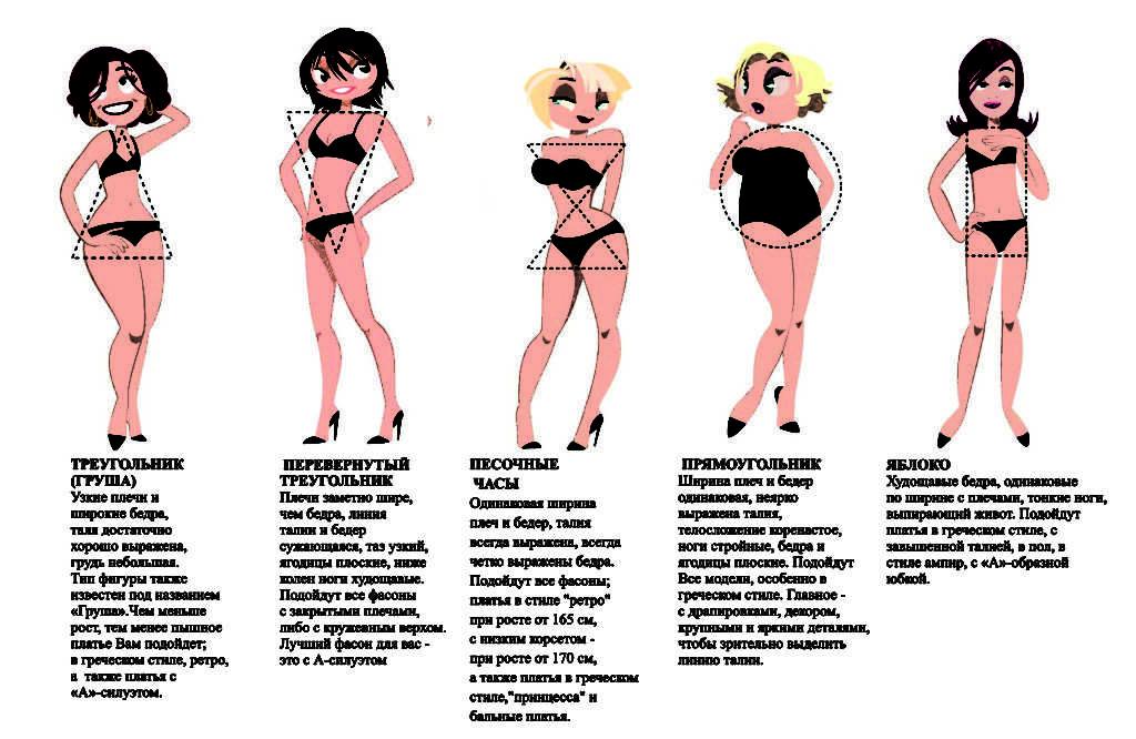 Типы девушек: женские типажи и черты идеальной спутницы