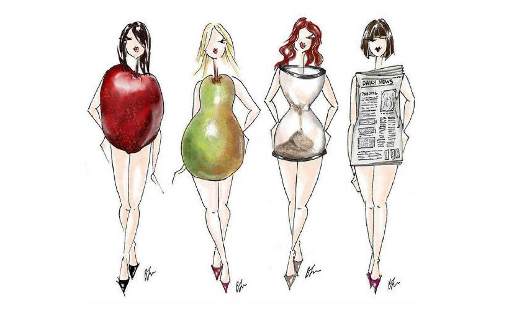 Типы женской фигуры – как определить, одеваться, тренироваться